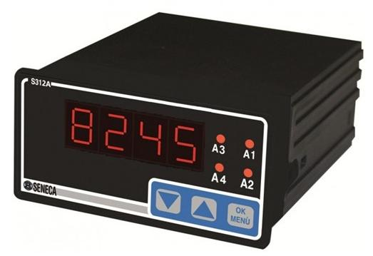Panel Mount 4 20 Ma Digital Indicator : Panel meter digital ma